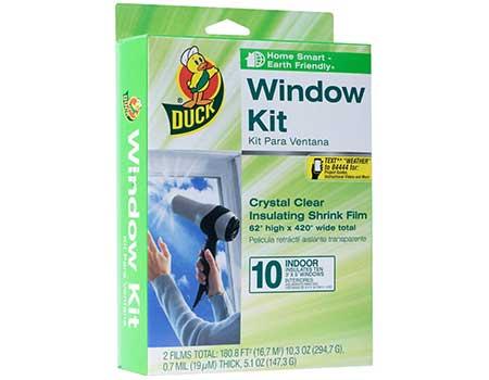 best plastic window insulation kit