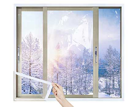 best plastic to cover windows in winter