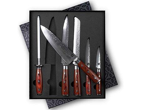 shun knife set