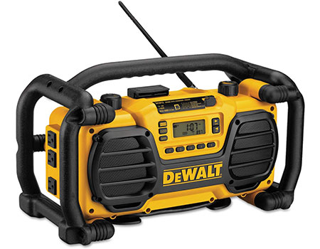 DEWALT: Jobsite radio