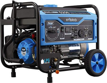 dual fuel generator inverter