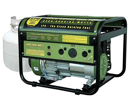 propane generator for home