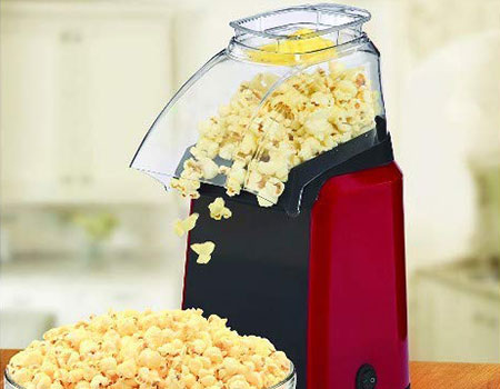 homdox hot air popcorn popper