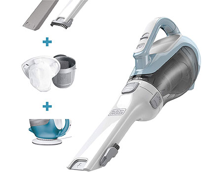 handheld vacuum with hepa filter