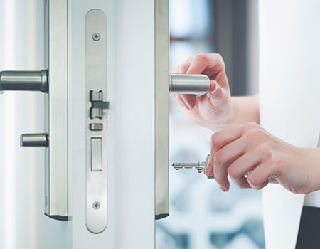 How to Lock a Pocket Door from Both Sides