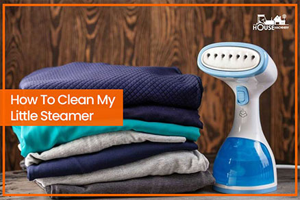 How To Clean My Little Steamer