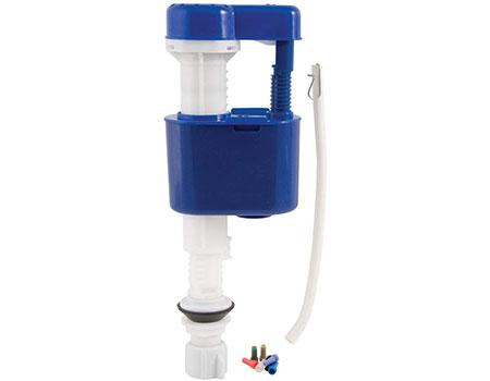 floatless toilet fill valve