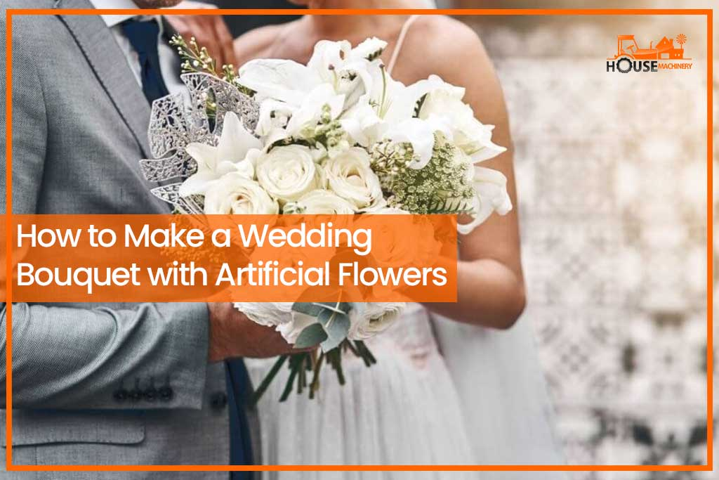 How to Make a Wedding Bouquet with Artificial Flowers
